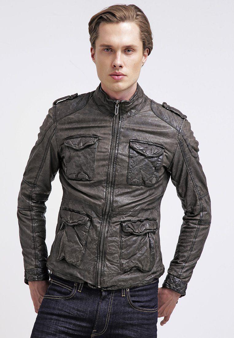 Homme Veste Cuir Xp8spqa Fortman Zalando Jeans Black En Pepe UzVpSqMG
