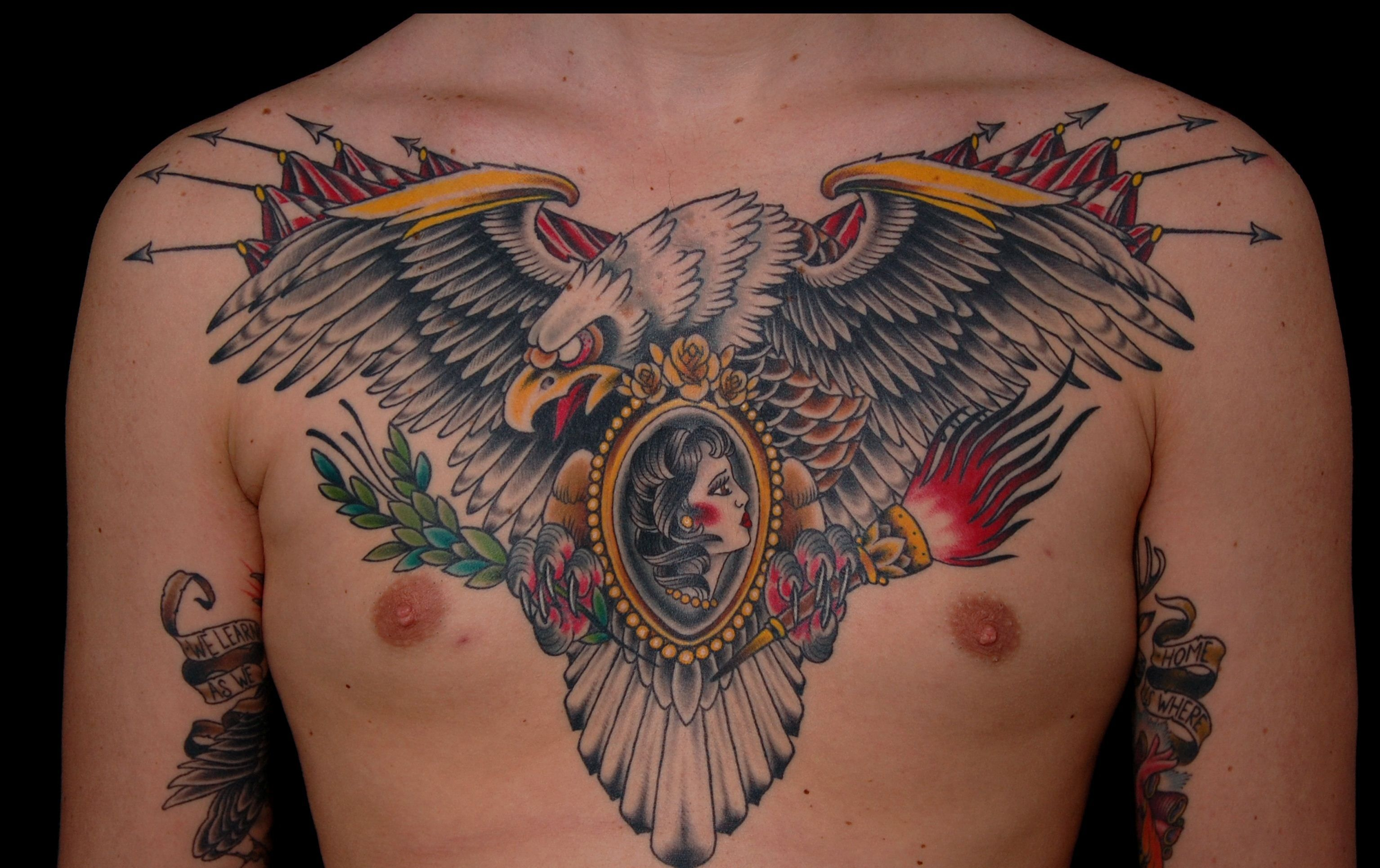 Top Eagle Tattoos Free Designs And Ideas Eagle Tattoos Eagle Chest Tattoo Eagle Tattoo