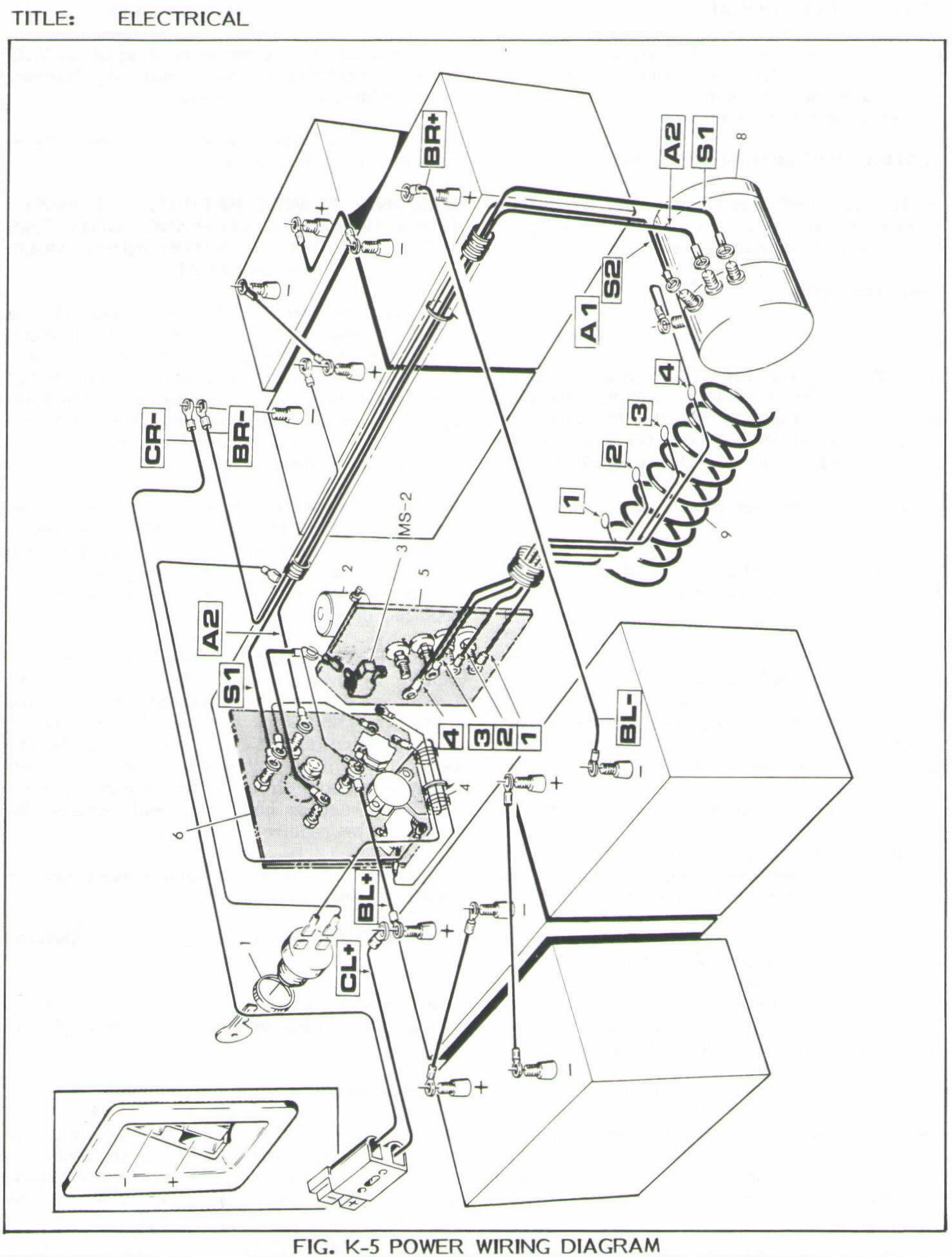 84 Ezgo Wiring Diagram Electric