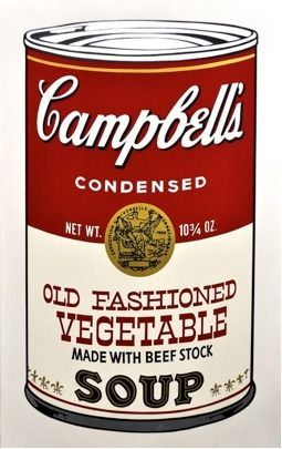 1stdibs.com | Andy Warhol - Campbell's Soup (Old Fashioned Vegetable) II.54