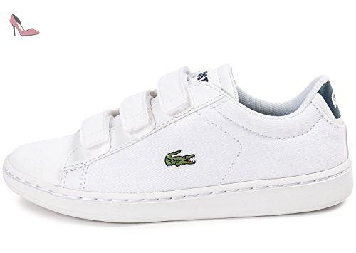 Lacoste Carnaby Enfant 34 Chaussures Evo Blanc Blanche tsCBhdQxr