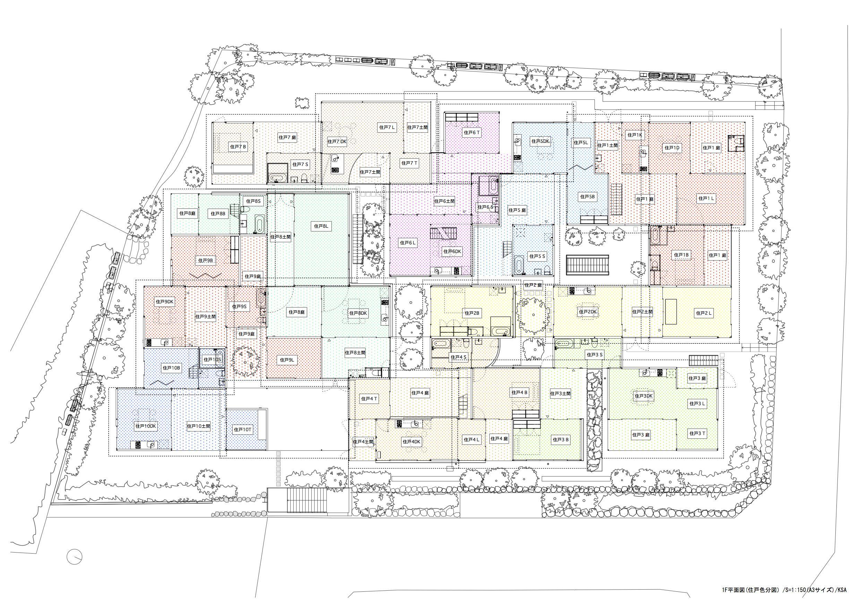 Floor Plan Nishinoyama House By Kazuyo Sejima