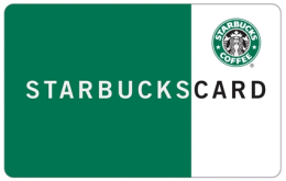Win a $5 Starbucks Giftcard