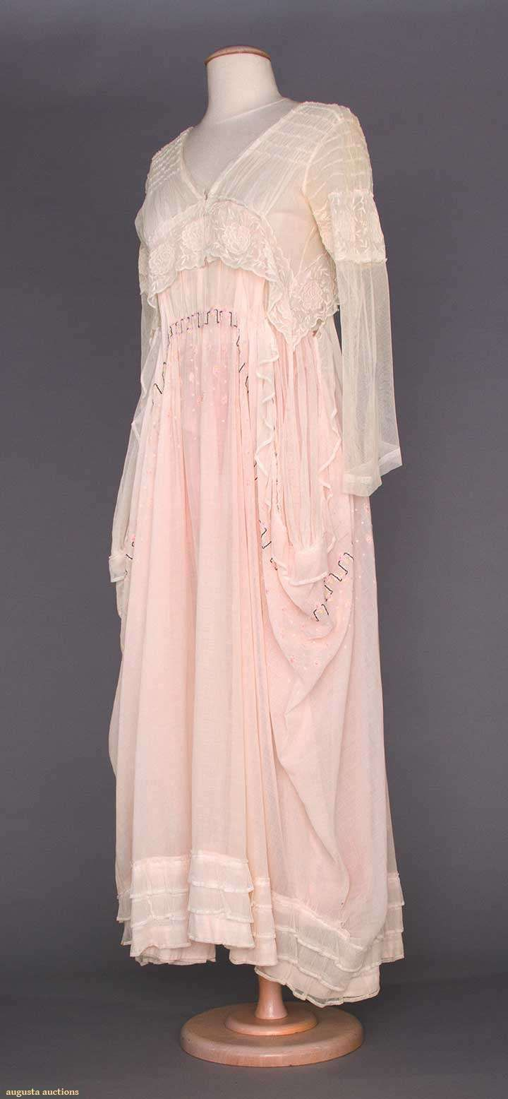 SUMMER TEA GOWN, 1914-1918 | Edwardian Fashion | Pinterest | Tea ...