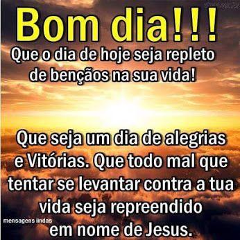 Profecen Bom Dia Na Paz Do Senhor Jesus Meus Amados Irmaos