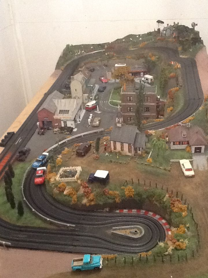 My Afx Slot Car Track