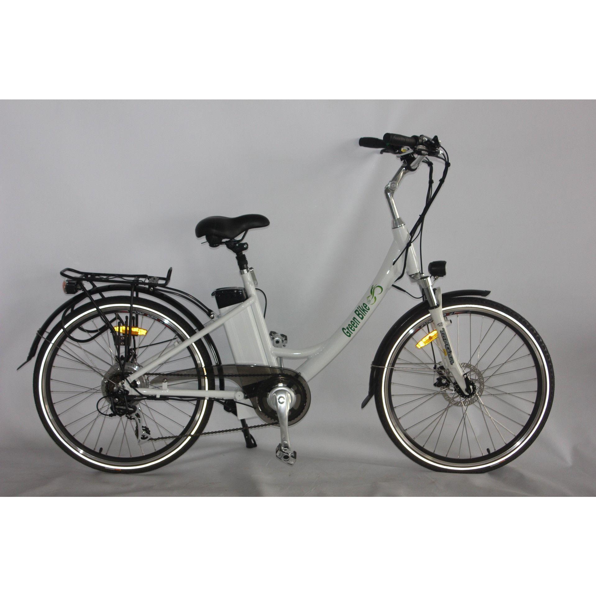 Green Bike USA Model GB2 Beach Cruiser Electric Bike