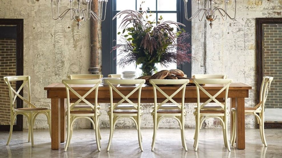 Home :: Furniture :: Dining :: Dining Tables :: Matilba Triple Butterfly Extension Dining Table