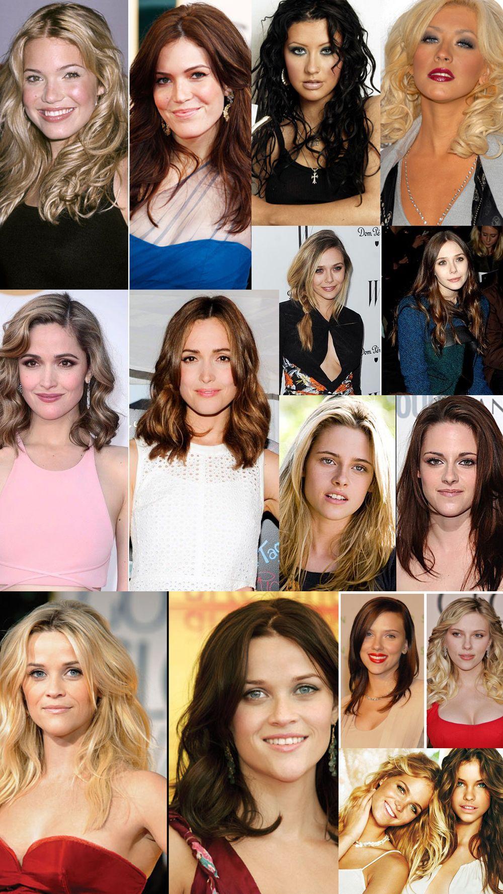 Haircolors Talk Trends Blonde Vs Brunette Vs Red Hairstyles Blonde Vs Brunette Hair Styles Red Hair