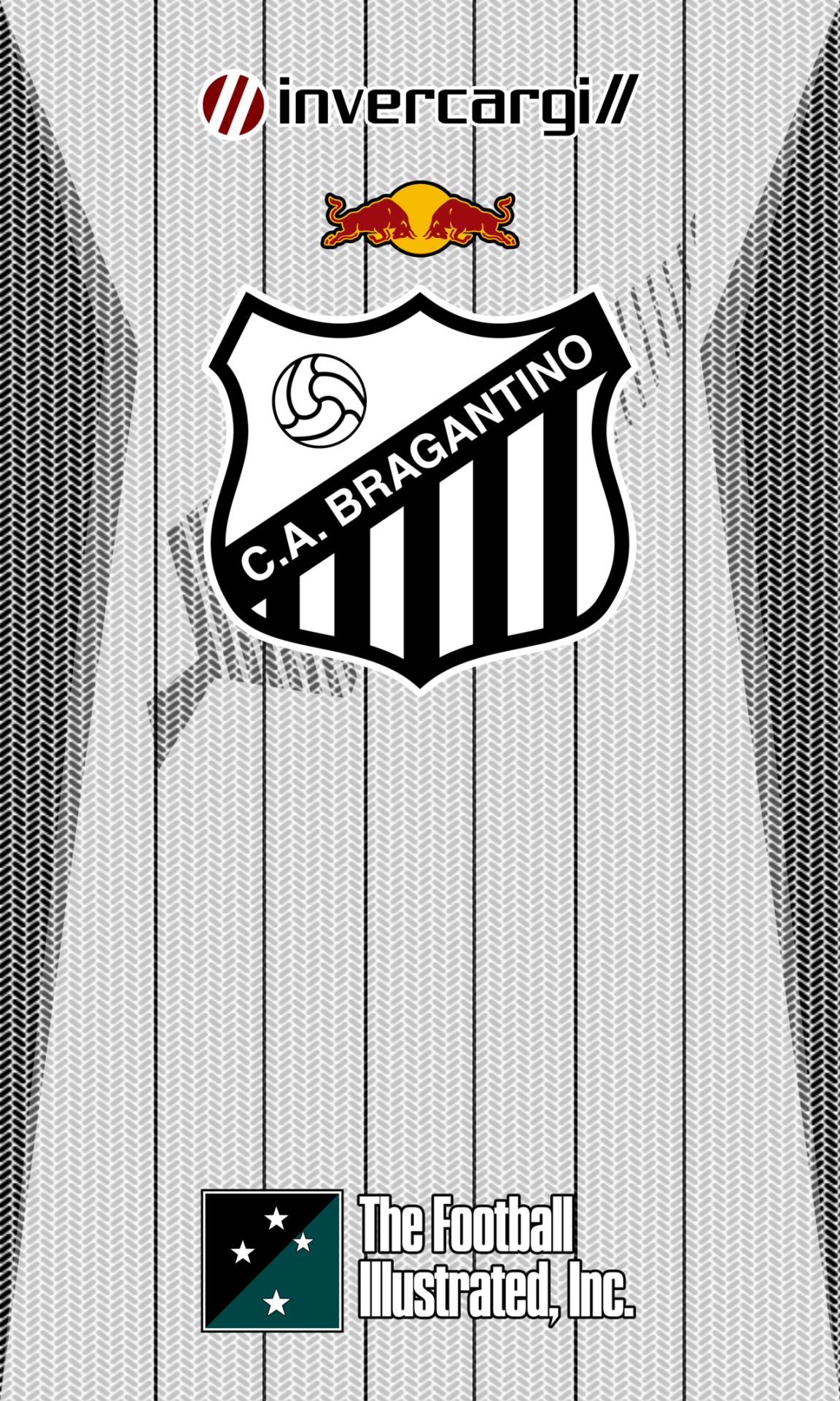 Wallpaper exclusivo do Clube Atlético Bragantino, clube da