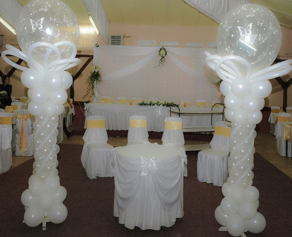 Unicos Adornos Con Globos Para Bodaoriginales Disenos Bodas - Adornos-con-globos-para-bodas
