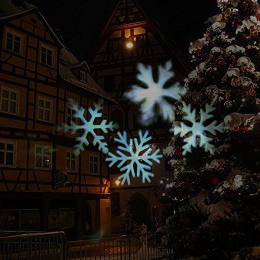 Led Beleuchtung Weihnachten | Unimall Led Projektor Lampe Weihnachten Beleuchtung Schneeflocken
