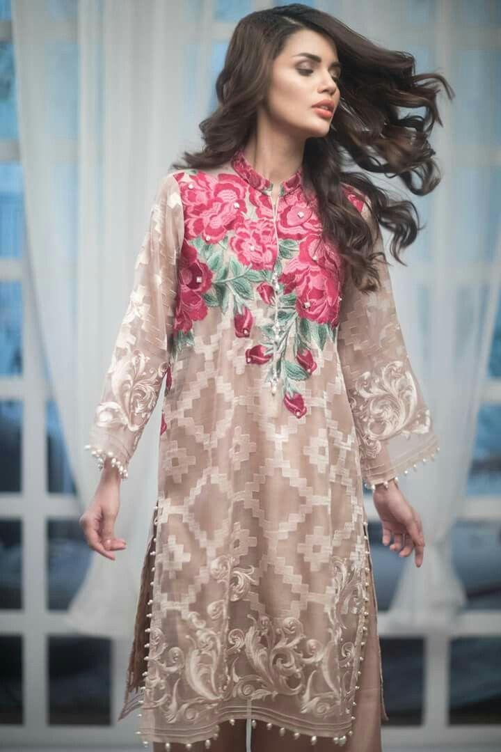 Pin by Anika Nawar on beautiful girly dress | Pinterest | Khadi ...