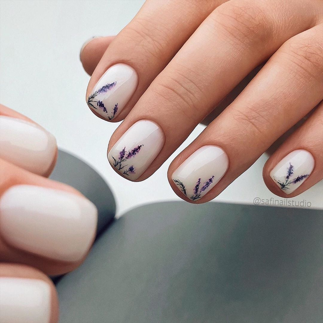 45 My Favourite Acrylic And Short Nail Painting Ideas