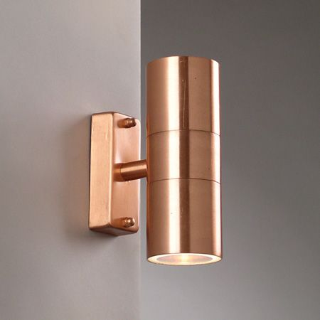 Related image | EXTERIOR LIGHTS | Pinterest | Copper wall, Lights ...