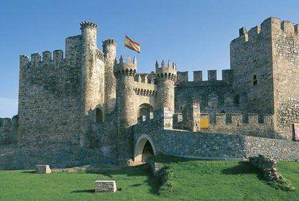 Castillo de Ponferrada (Ponferrada, Castilla y León). Spain