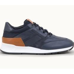Photo of Tod's – Sneakers aus Leder, Braun,blau, 7.5 – Shoes Tod's