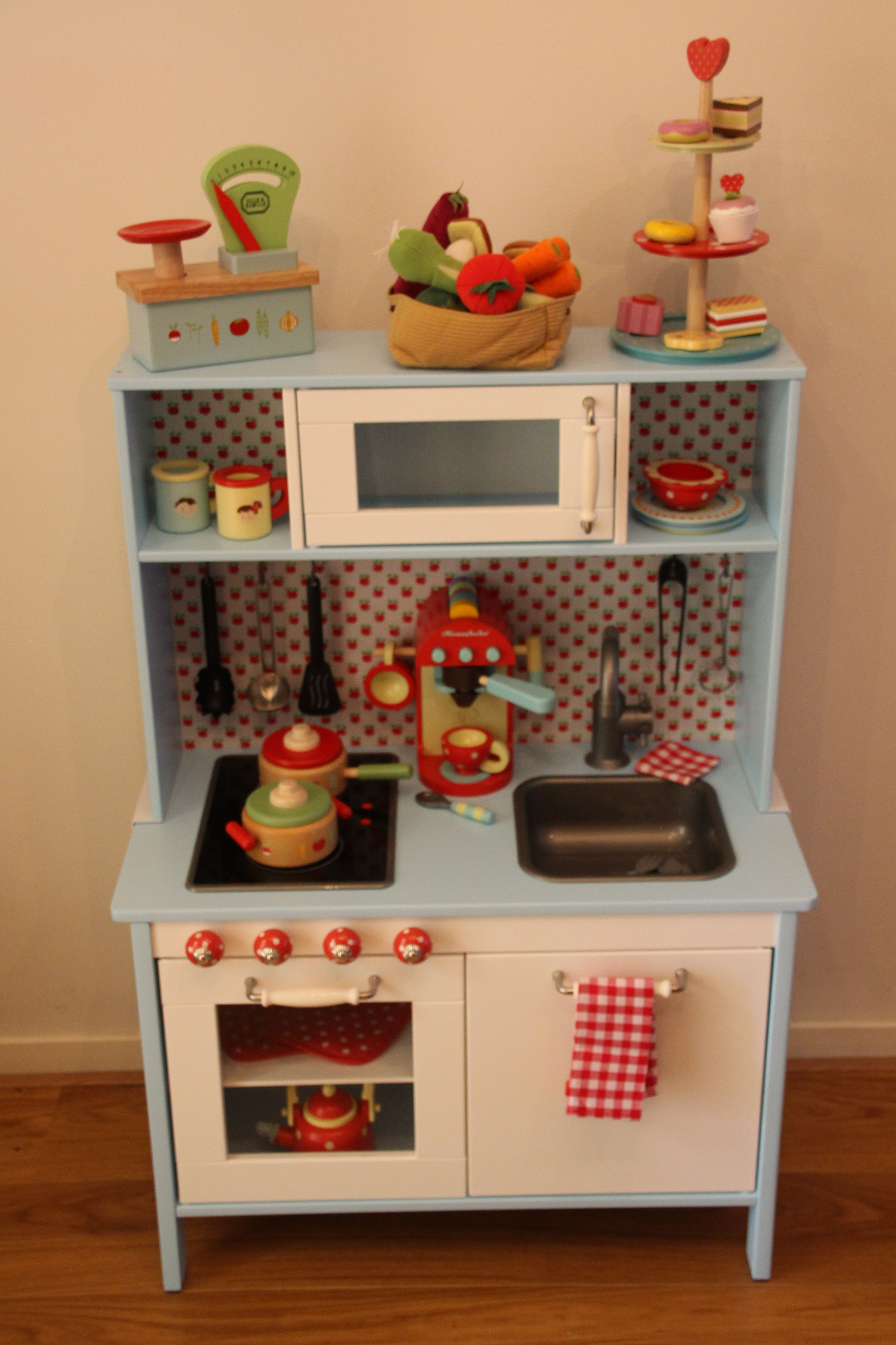 ikea play kitchen is the best because it has an adjustable height plus you can then paint it. Black Bedroom Furniture Sets. Home Design Ideas