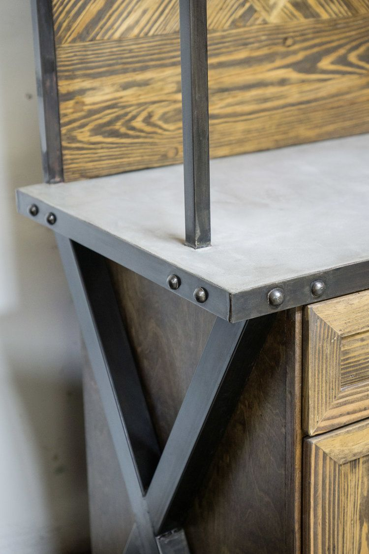 Reclaimed Wood Steel And Concrete Custom Furniture By Planks Usa Made In Orange County Ca