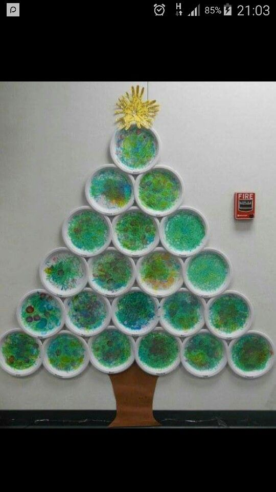 Paper Plate Christmas Tree Preschool Christmas Crafts Preschool Christmas Christmas Kindergarten