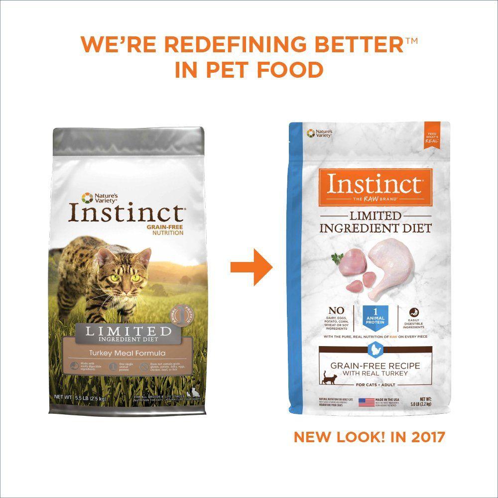 Instinct limited ingredient diet grain free recipe with