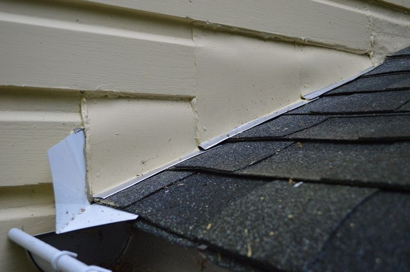 Replacing Roof Flashing At A Sidewall Roof Flashing