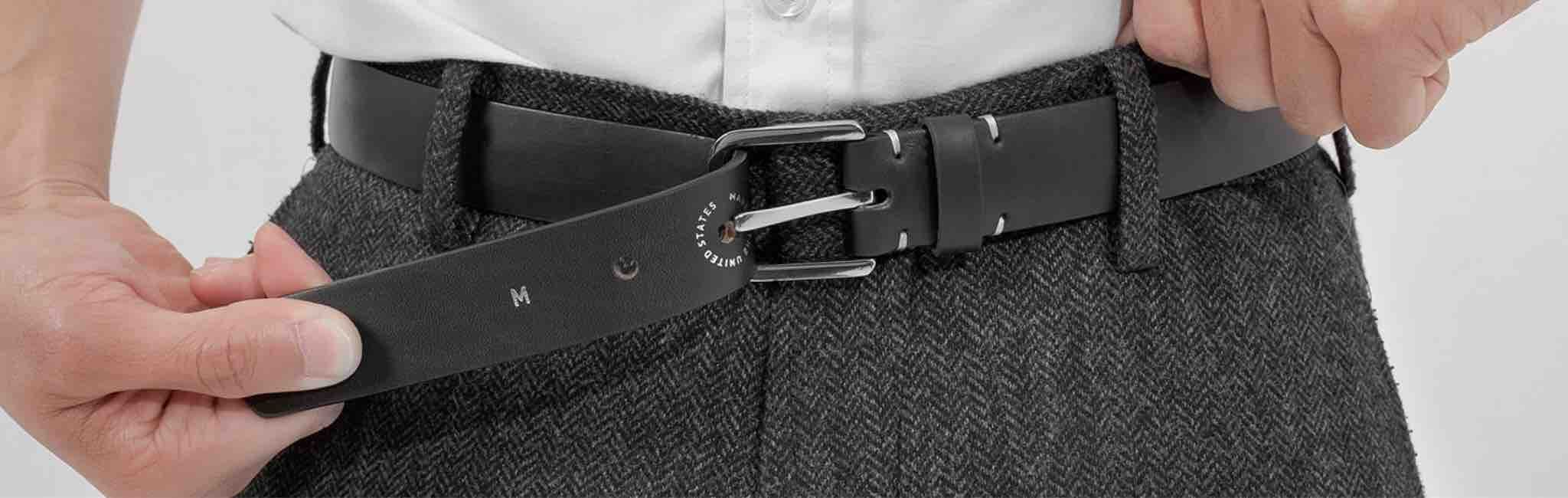 How to determine your belt size method 1 the most widely