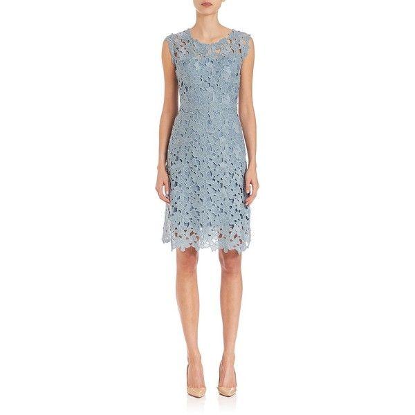 Elie Tahari Ophelia Lace Dress 440 Liked On Polyvore