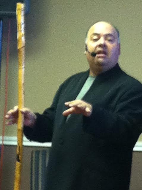 David teaching - Shabbat service at Rehoboth 10/4/14