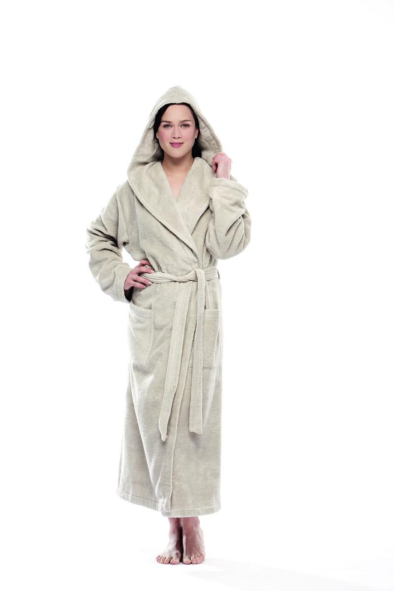 Luxurious 100% Cotton Swiss Made Women's Bathrobes