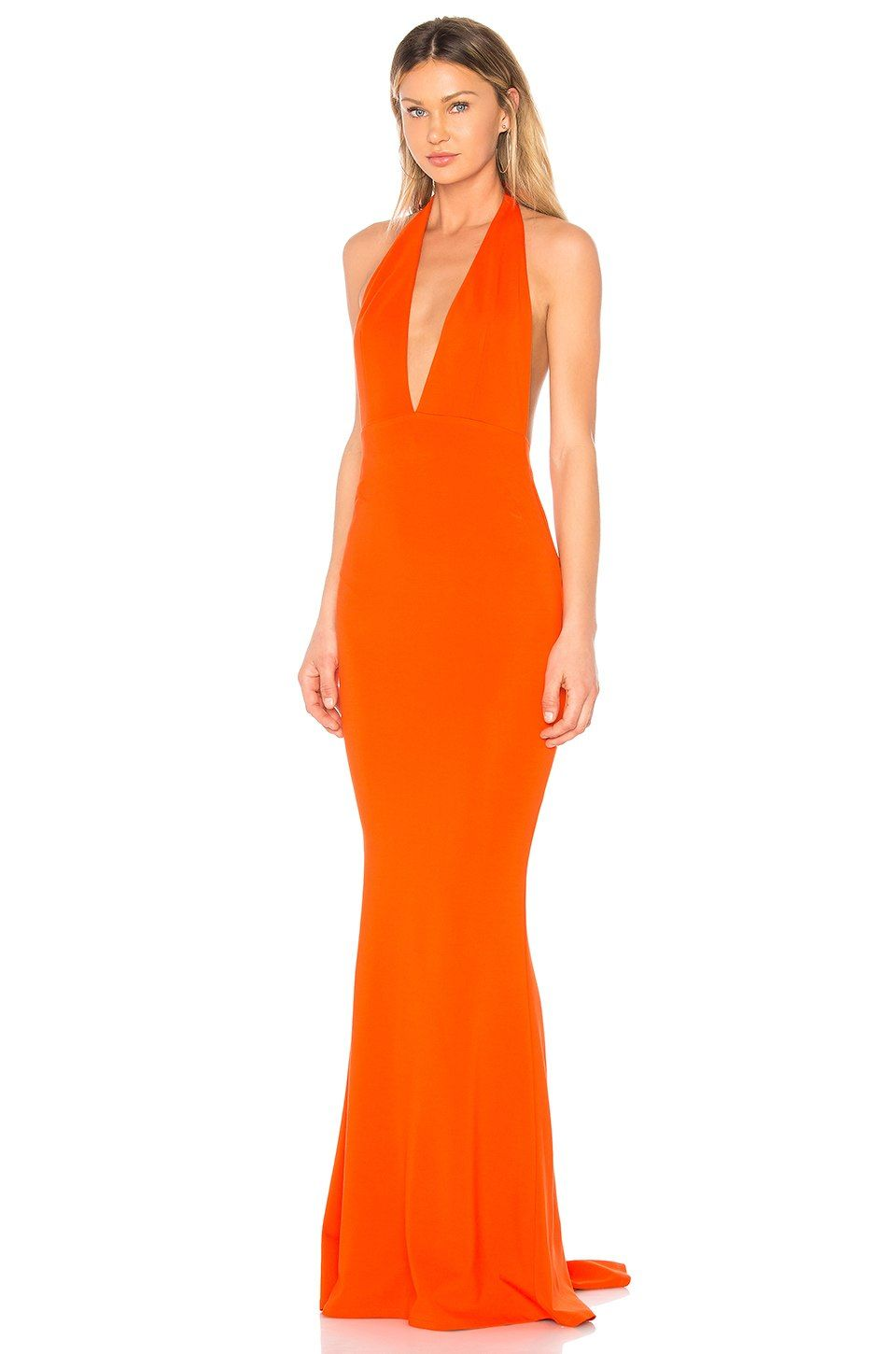fc17bed070 NBD Jenny From The Block Gown in Persimmon