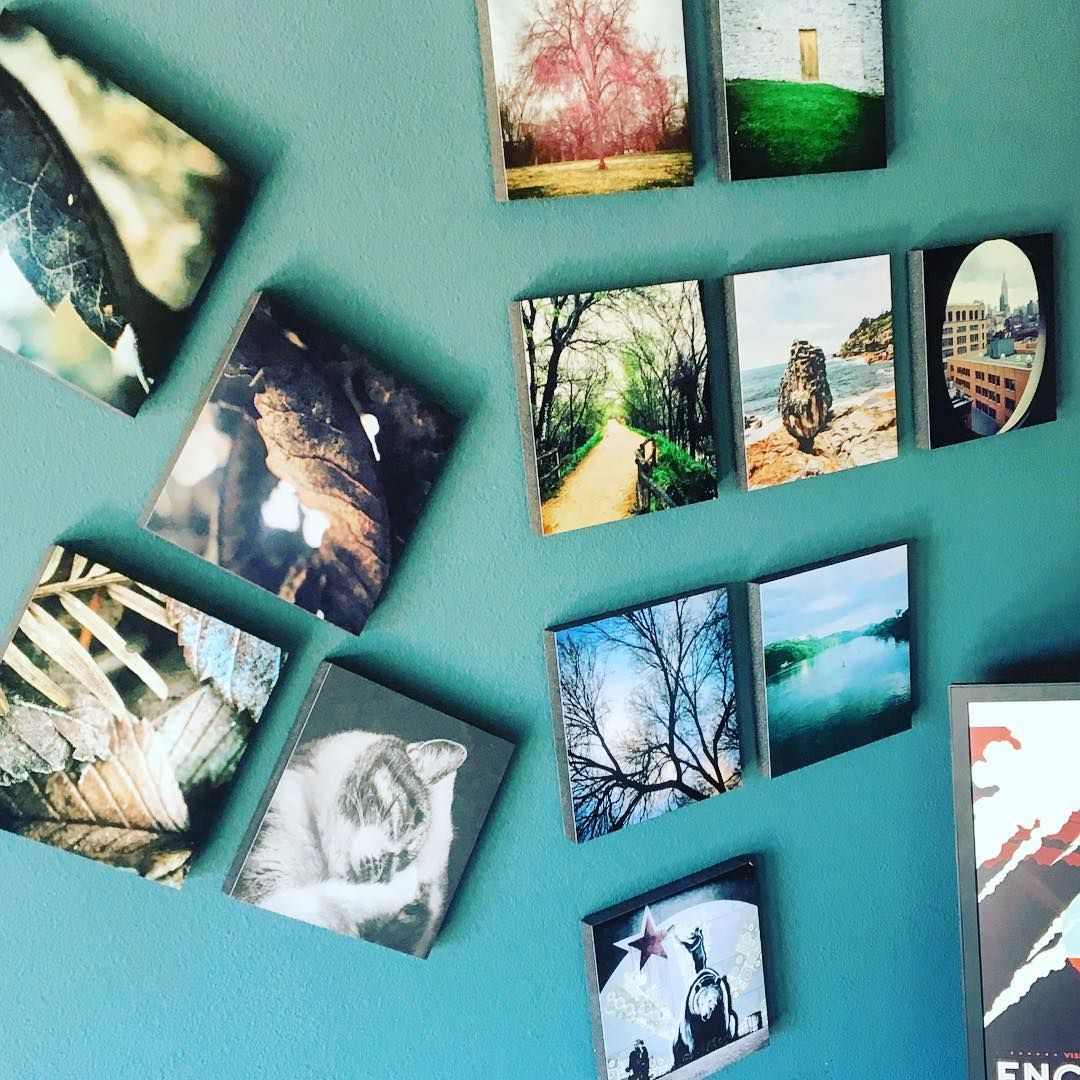 Slowly Building A Wall Of Photos With #mixtiles