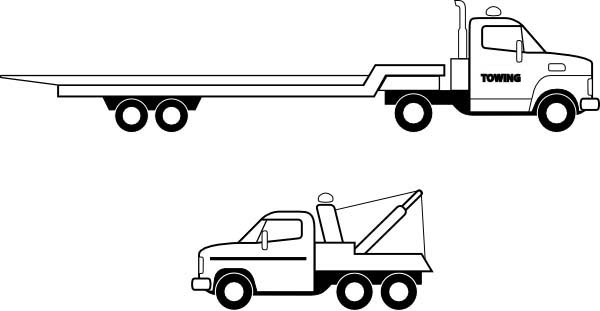 Flatbed Truck In Semi Truck Coloring Page Download Print Online Coloring Pages For Free Color N Truck Coloring Pages Online Coloring Pages Coloring Pages