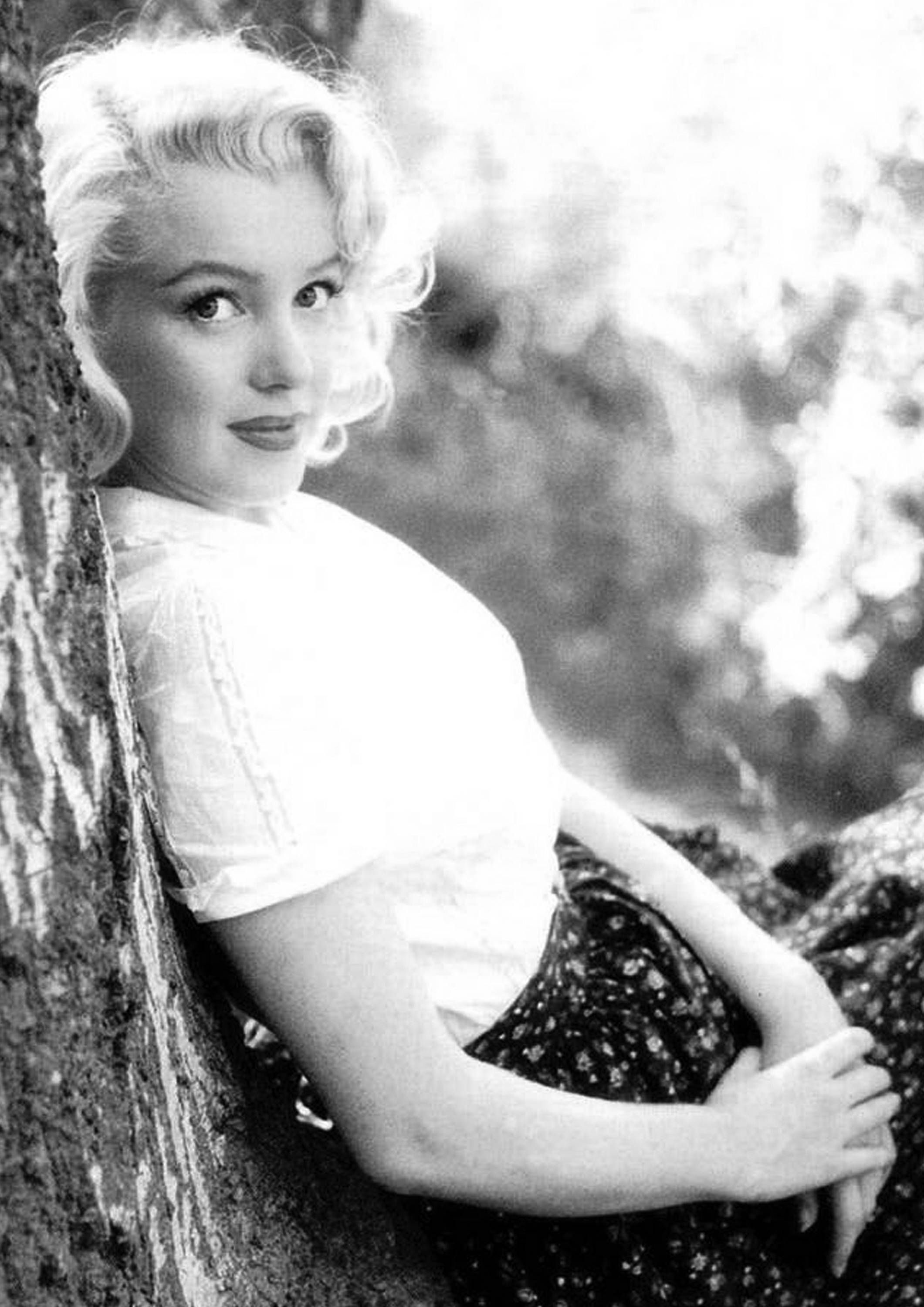 Marilyn Monroe Monochrome Photographic Print 13 (A4 Size - 210mm x ...