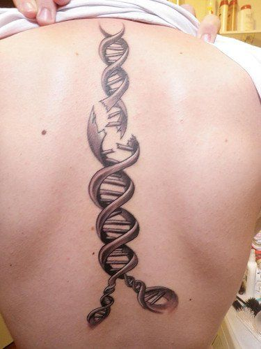 Pin By Candelaria Acerbo On Body Art Dna Tattoo Tattoos Awareness Tattoo