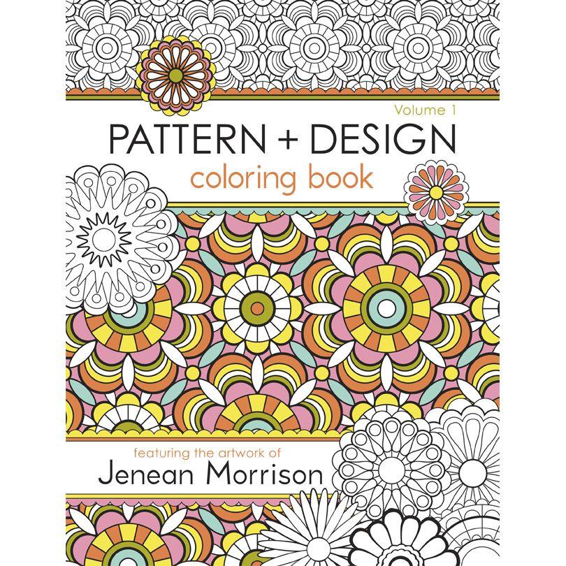 Elegant Design Coloring Book 3 Princess of Pattern Jenean