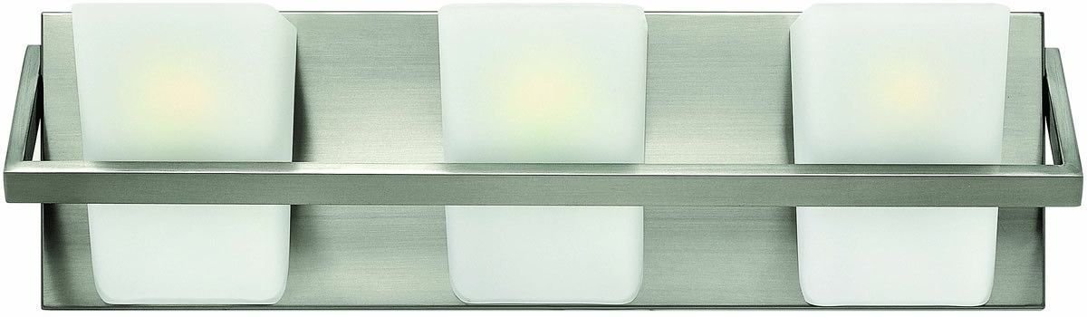21 inchw Blaire 3-Light Bath Vanity Brushed Nickel | Bath vanities ...