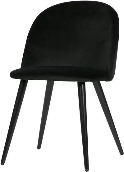 Set De 2 Chaises En Velours Noir Fay Limited Edition The Cool Republic Cool Stuff Chaise Noir