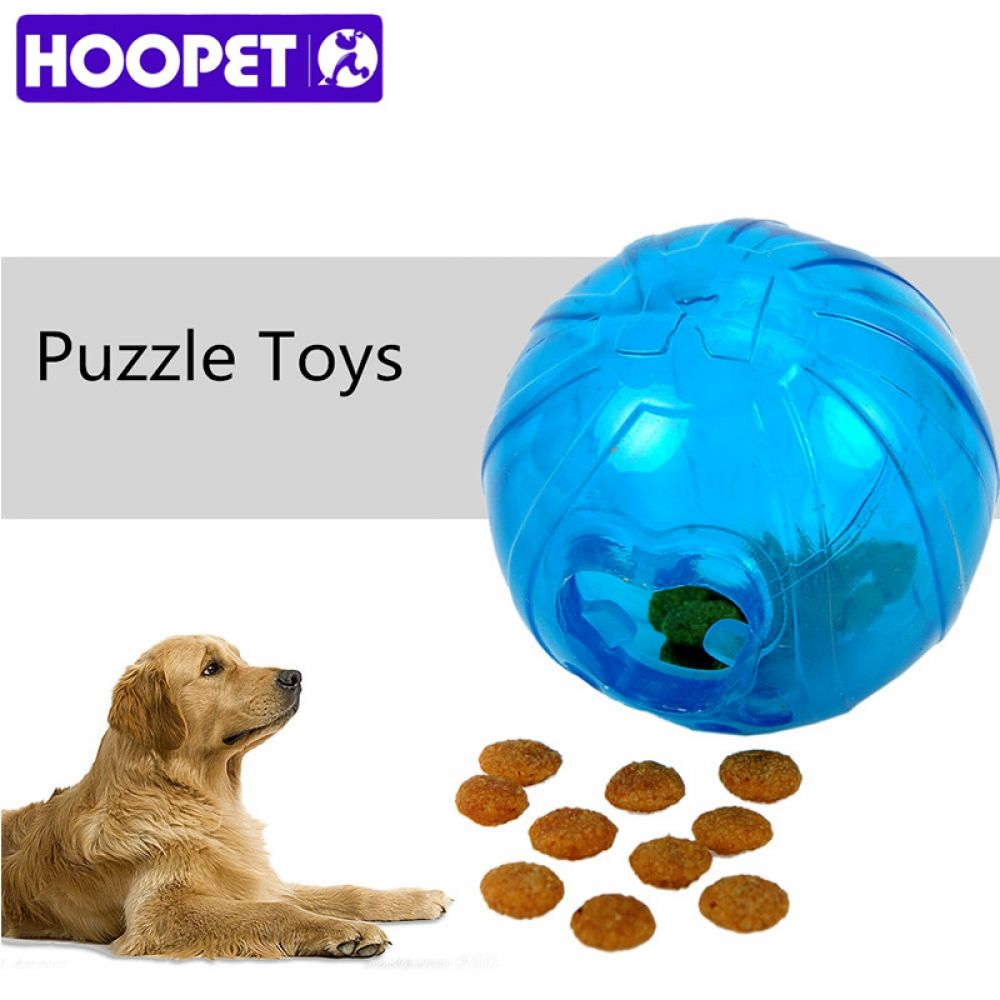 Hoopet Pet Toys Leakage Food Ball Pure Natural Imported Rubber Dog