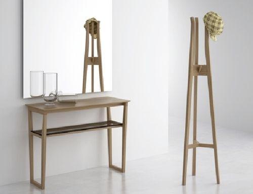 perchero de pie de madera moderno maralba celda - Perchero De Madera