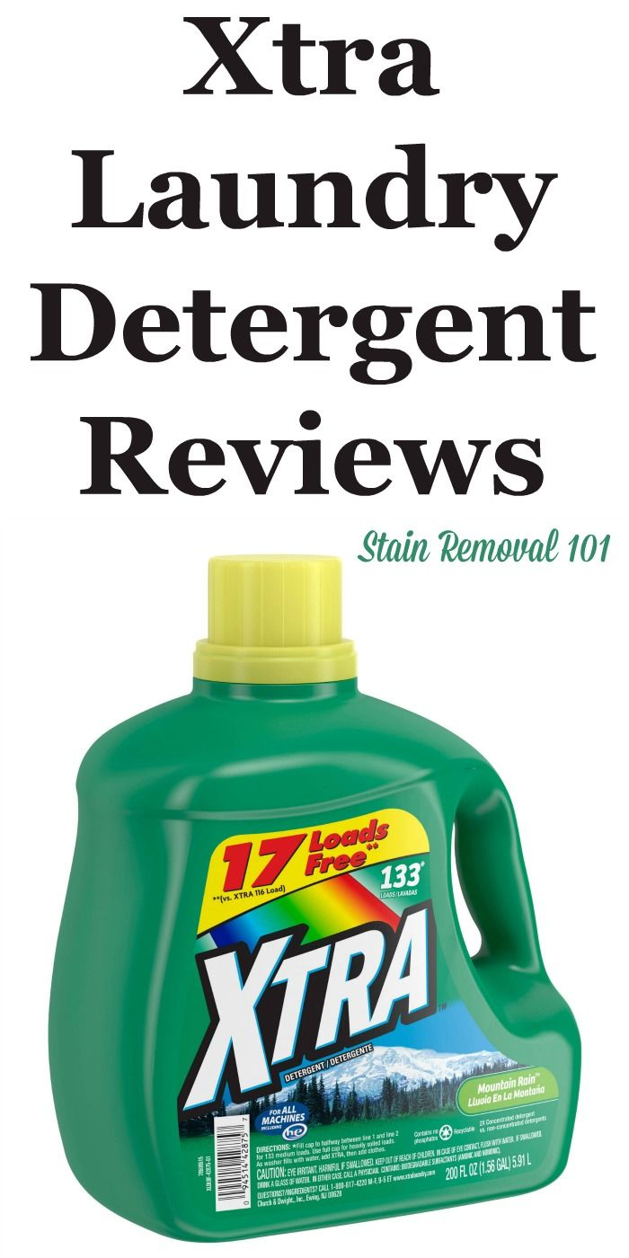 Xtra Laundry Detergent Reviews Ratings And Information Xtra