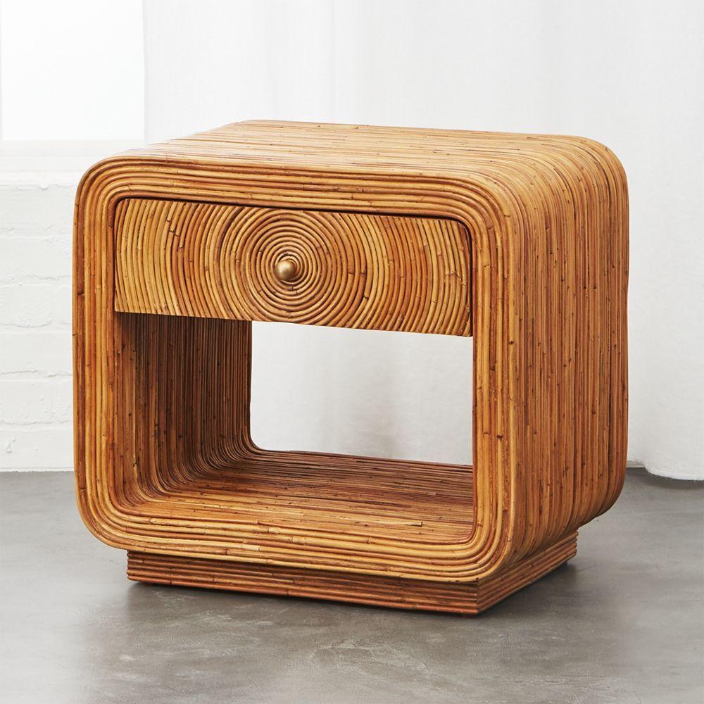 Best Tallulah Rattan Nightstand Pallet Furniture Living Room 400 x 300