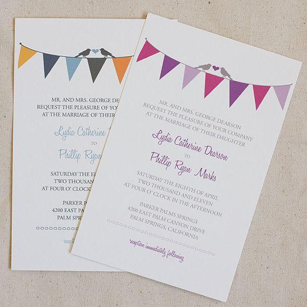 Resultado de imagen para invitacion de cumpleaños banderines colores - Formal Invitation Letters