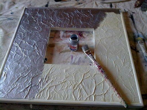 Hacer marcos para cuadros 2 hacer bricolaje es - Hacer marcos para espejos ...