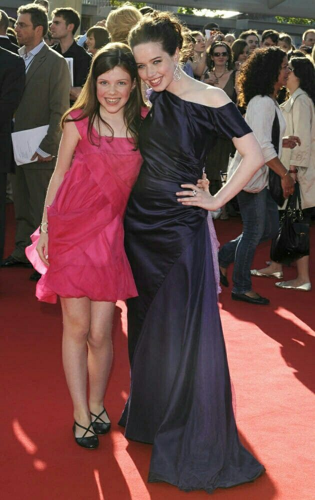 Georgie Henley And Anna Popplewell