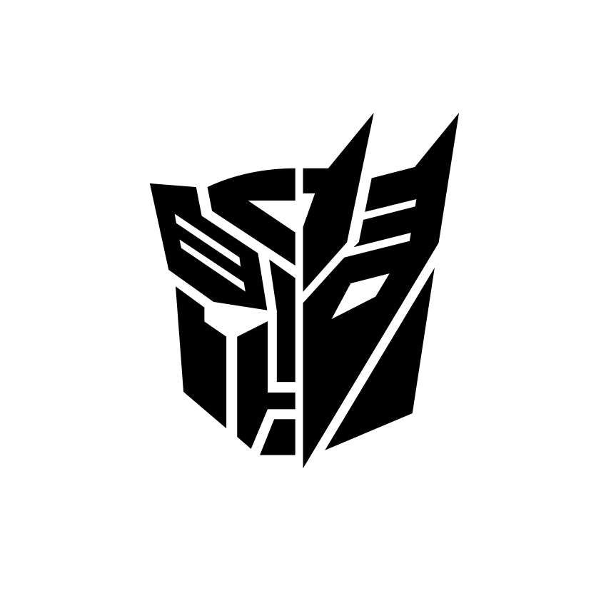 Transformers Autobot Decepticon Graphics Svg Dxf Eps Png Cdr Ai Pdf Vector Art Clipart Instant Download Digita Transformer Tattoo Transformers Transformer Logo