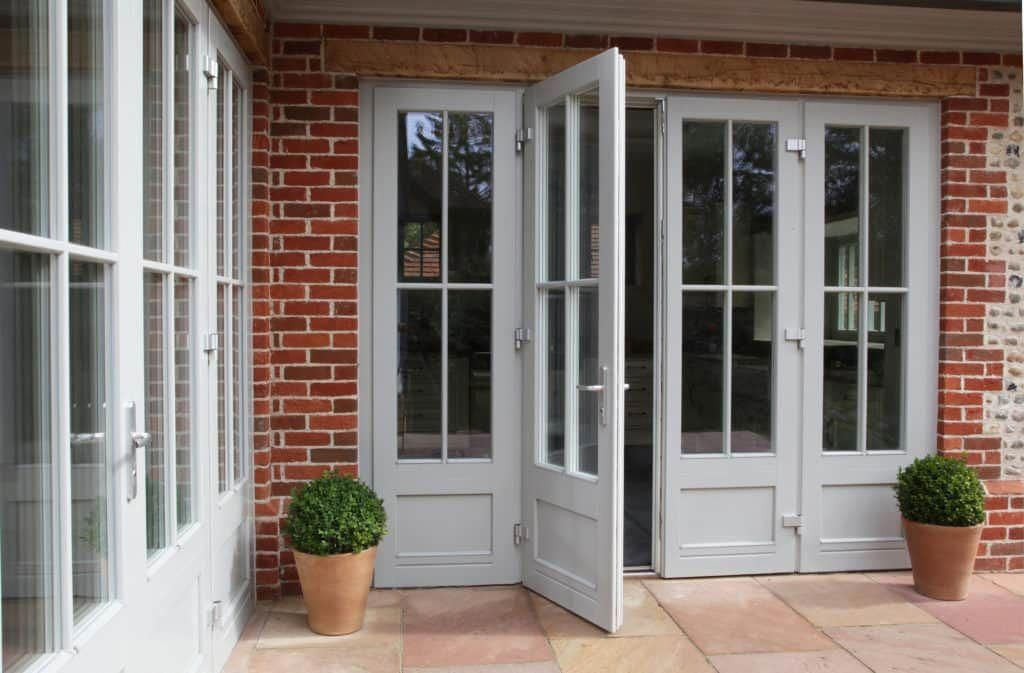 Triple Glazed Timber French Doors From The Performance Range Cost Effective Option For Low Energy Retrof French Doors Exterior French Doors French Doors Patio