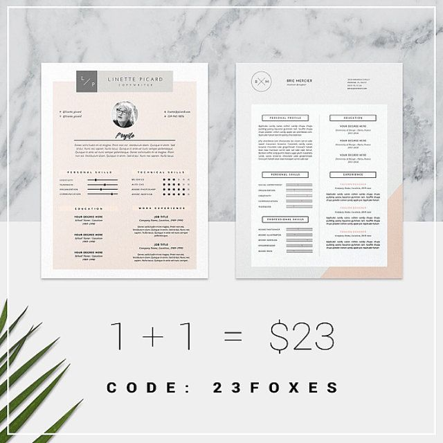 Beautiful Resume Templates Get✖ Resume Makeover & Get Landed Beautiful Resume Templates