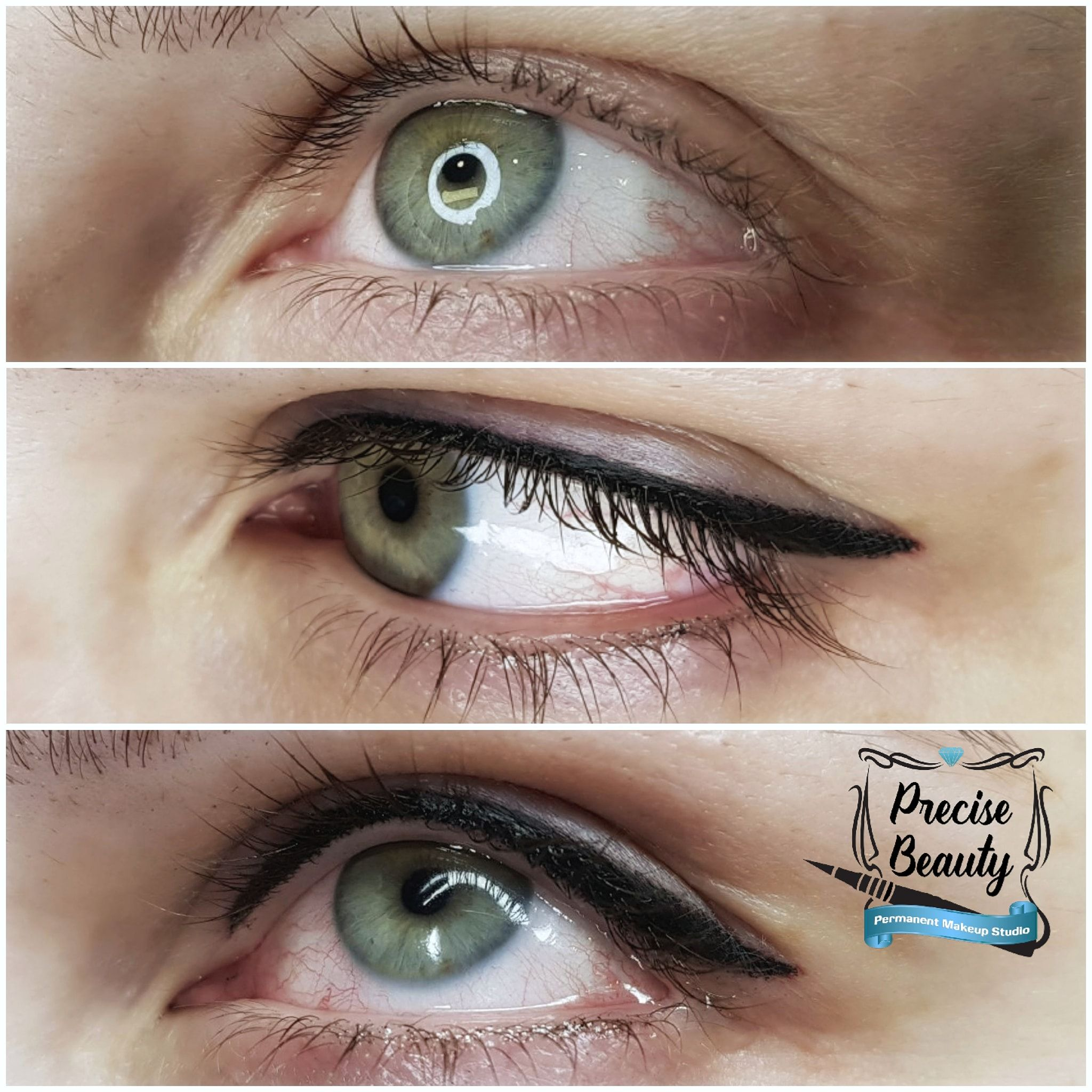 Tatoo eyeliner (With images) Permanent makeup, Permanent