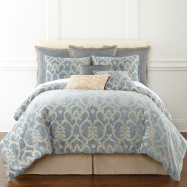 Royal Velvet Alexandria 4 Pc Comforter Set Accessories Found At Jcpenney Bedroom
